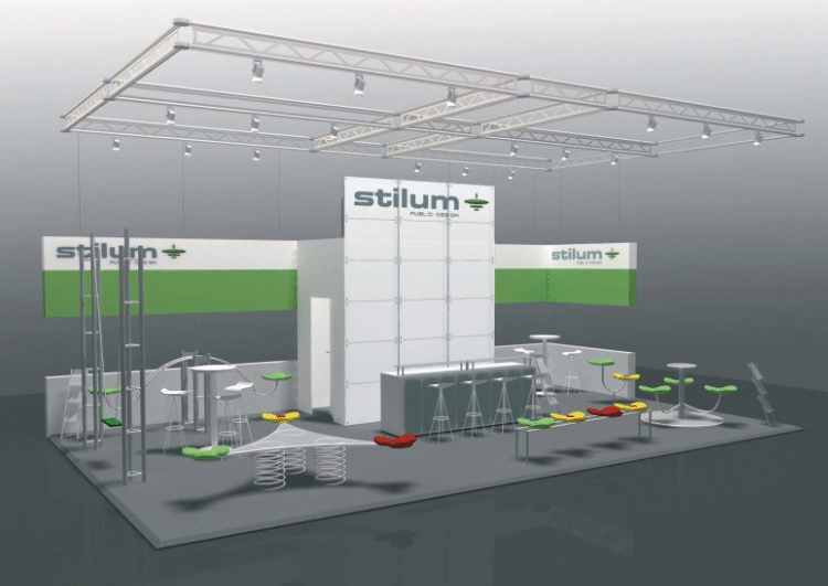 Stilum Messestand